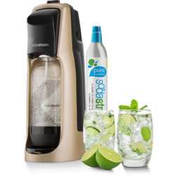 SodaStream JET black a White sada